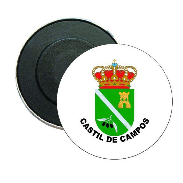 iman redondo escudo heraldico castil de campos