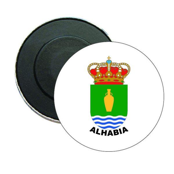 iman redondo escudo heraldico alhabia