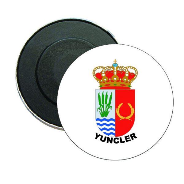 iman redondo escudo heraldico yuncler
