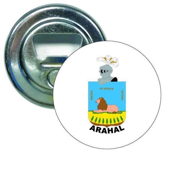 abridor redondo escudo heraldico arahal