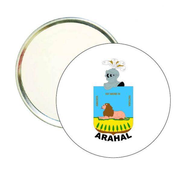espejo redondo escudo heraldico arahal