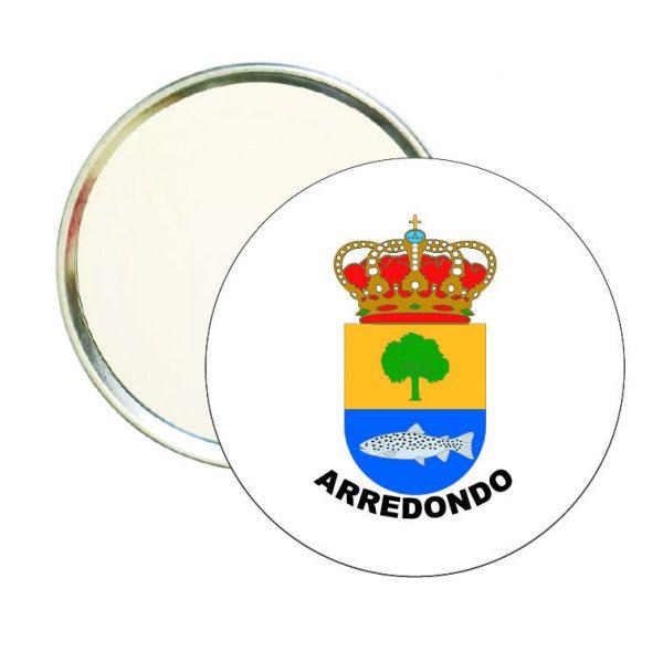 espejo redondo escudo heraldico arredondo