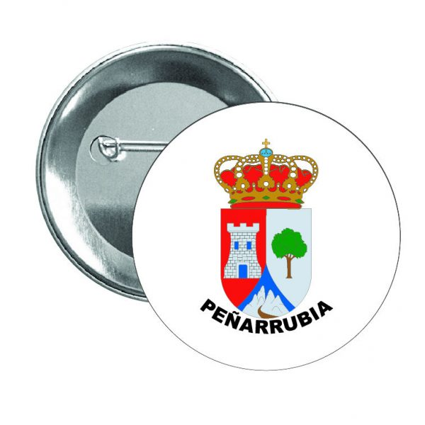 chapa escudo heraldico penarrubia