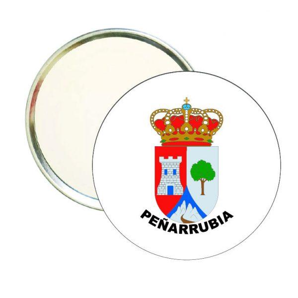 espejo redondo escudo heraldico penarrubia