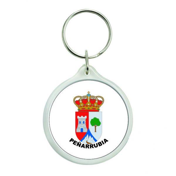 llavero redondo escudo heraldico penarrubia