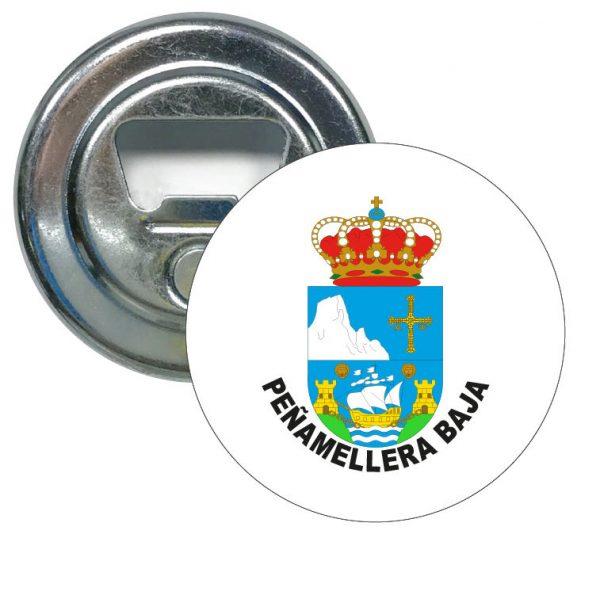 abridor redondo escudo heraldico penamellera baja