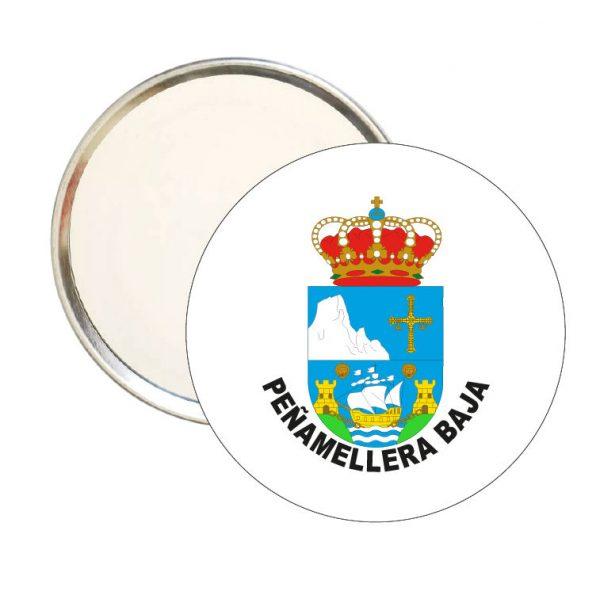 espejo redondo escudo heraldico penamellera baja