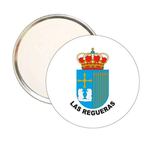 espejo redondo escudo heraldico las regueras