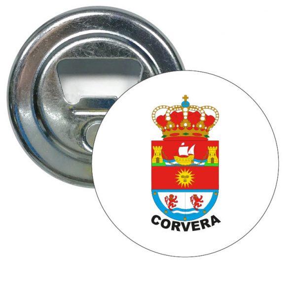 abridor redondo escudo heraldico corvera