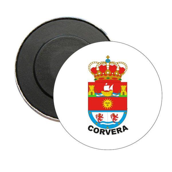 iman redondo escudo heraldico corvera