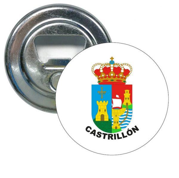 abridor redondo escudo heraldico castrillon