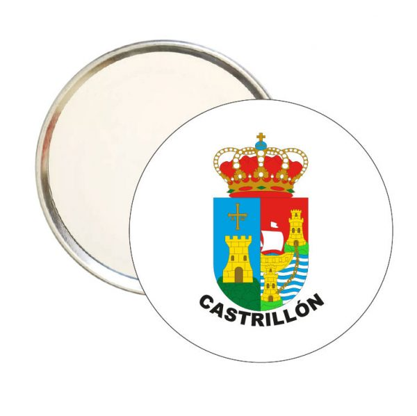 espejo redondo escudo heraldico castrillon