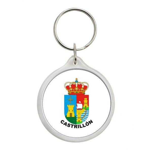 llavero redondo escudo heraldico castrillon