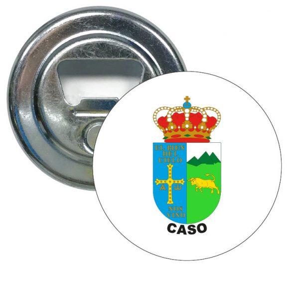 abridor redondo escudo heraldico caso