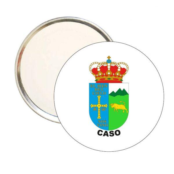 espejo redondo escudo heraldico caso