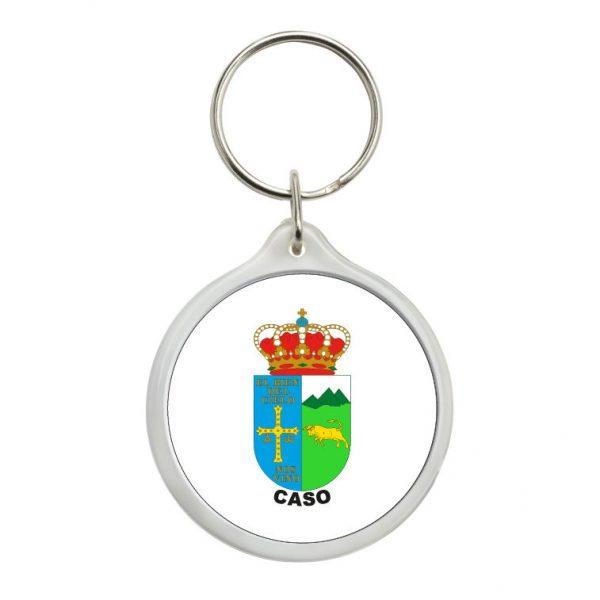 llavero redondo escudo heraldico caso