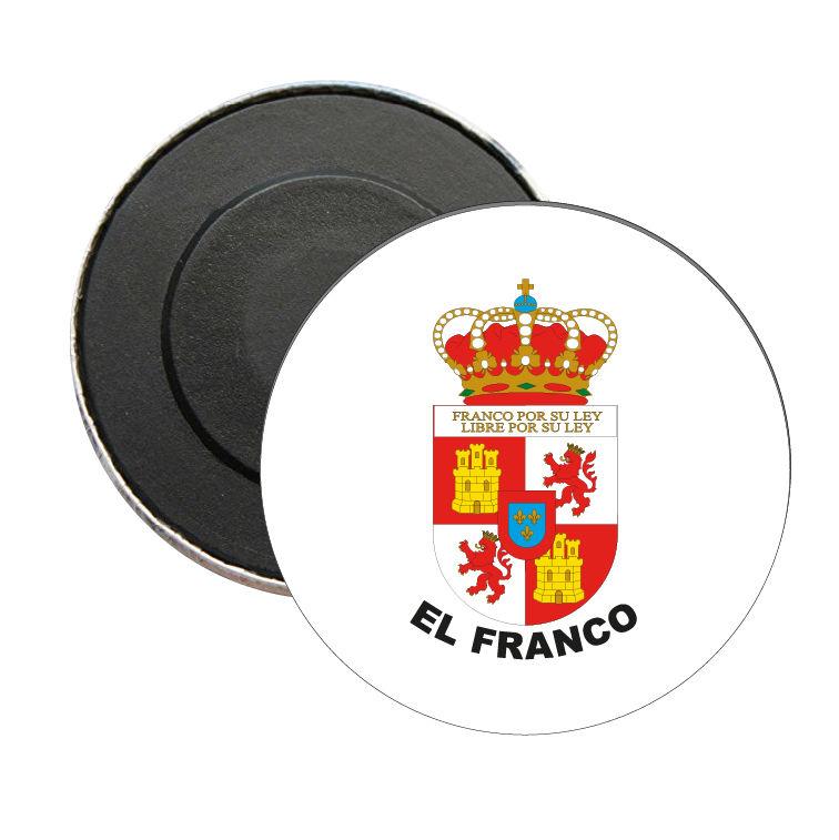iman redondo escudo heraldico el franco