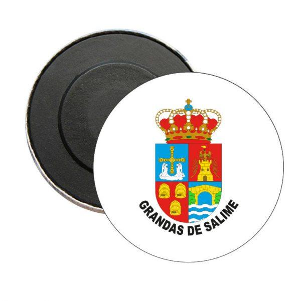 iman redondo escudo heraldico grandas de salime