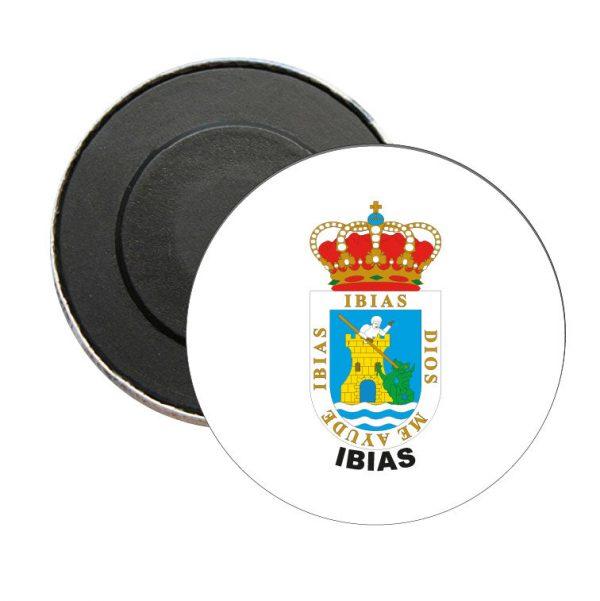iman redondo escudo heraldico ibias