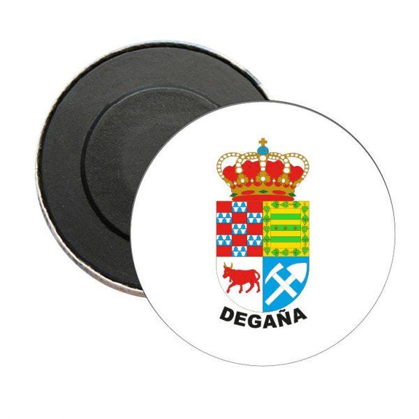 iman redondo escudo heraldico degana