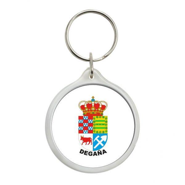 llavero redondo escudo heraldico degana