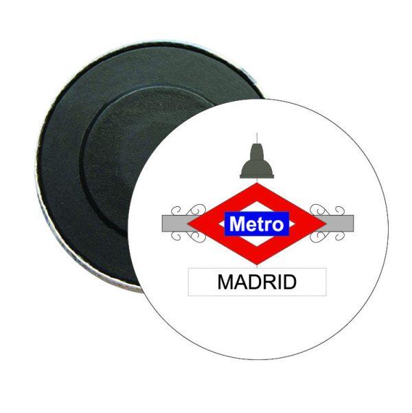 iman redondo madrid metro