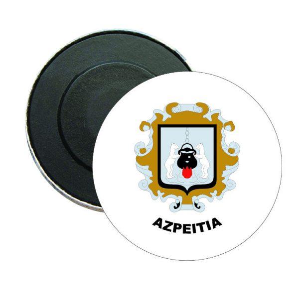 iman redondo escudo heraldico azpeitia