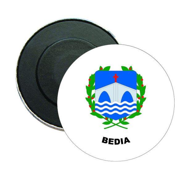 iman redondo escudo heraldico bedia