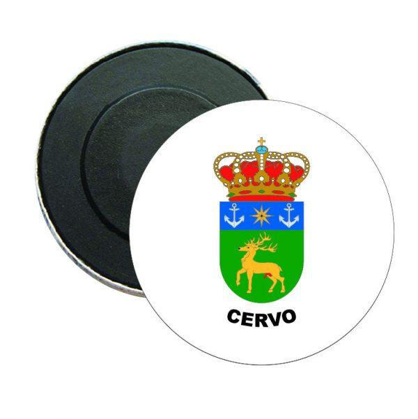 iman redondo escudo heraldico cervo