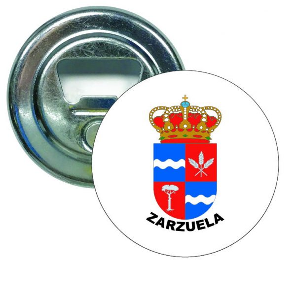 abridor redondo escudo heraldico zarzuela