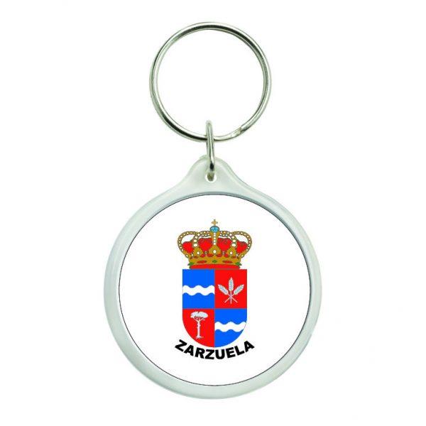 llavero redondo escudo heraldico zarzuela