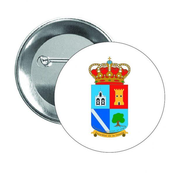 552 chapa escudo heraldico zapardiel de la caNada