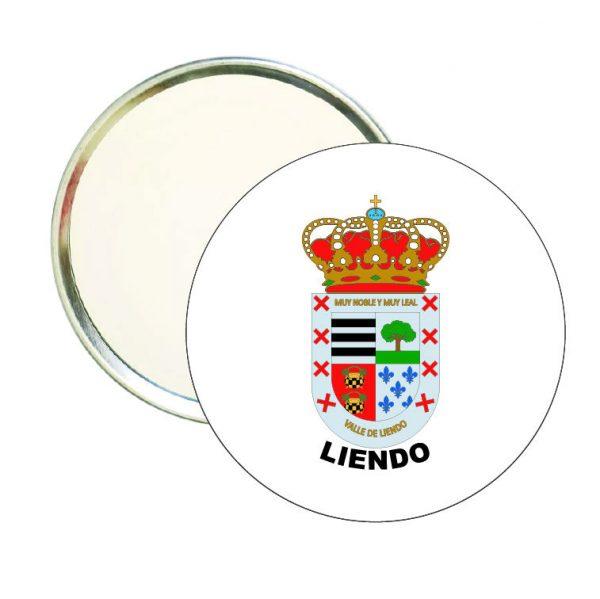 espejo redondo escudo heraldico liendo