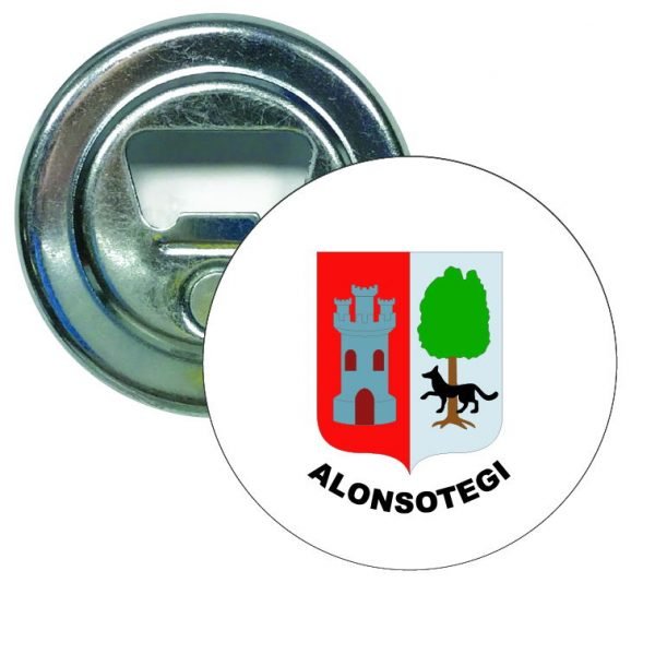 abridor redondo escudo heraldico alonsotegi