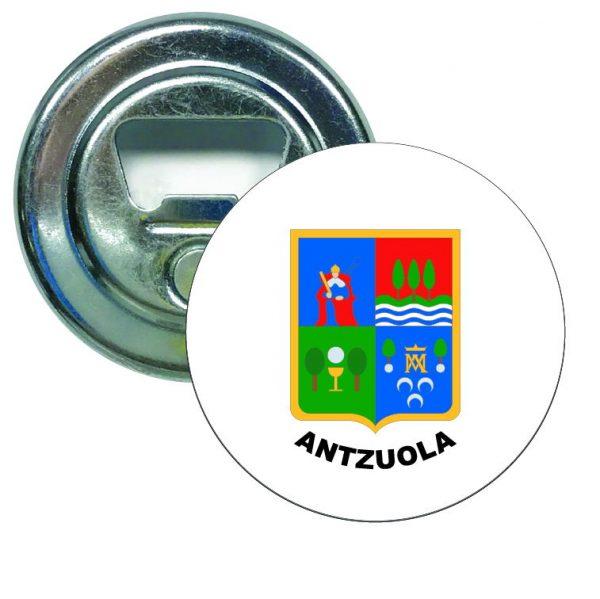abridor redondo escudo heraldico antzuola