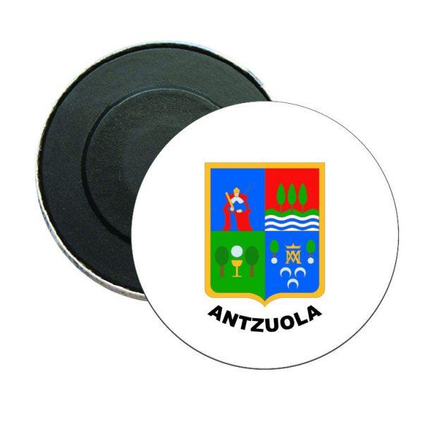 iman redondo escudo heraldico antzuola
