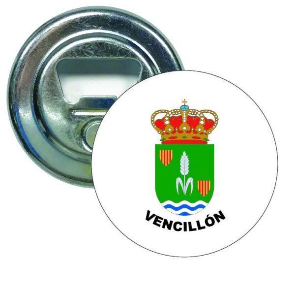 abridor redondo escudo heraldico vencillon