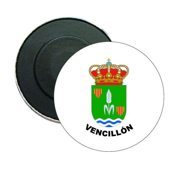 iman redondo escudo heraldico vencillon