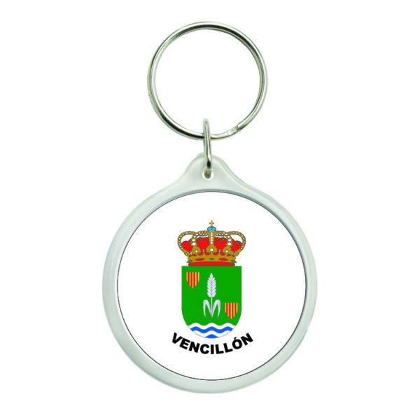 llavero redondo escudo heraldico vencillon