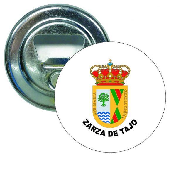 abridor redondo escudo heraldico zarza de tajo