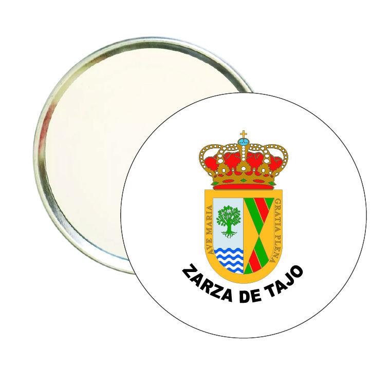 espejo redondo escudo heraldico zarza de tajo