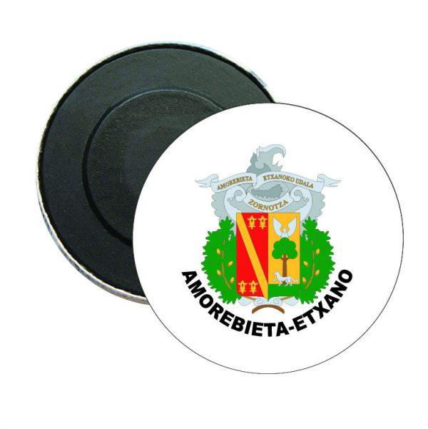 iman redondo escudo heraldico amorebieta etxano