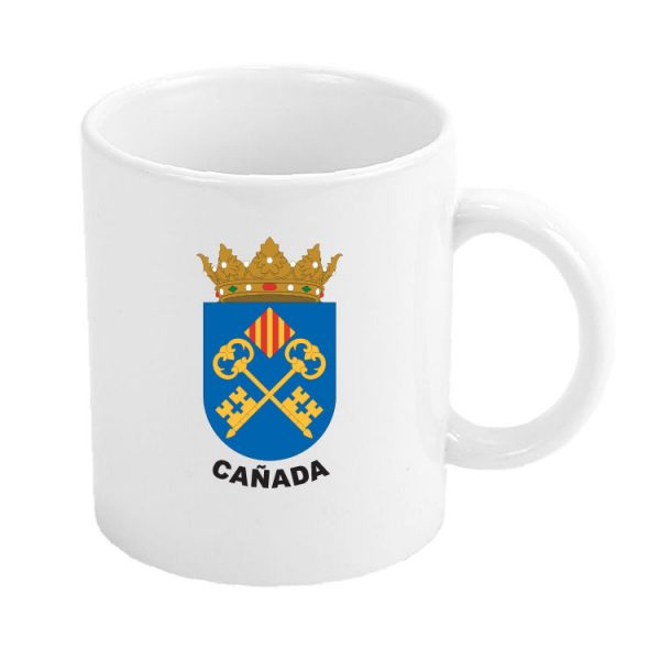 taza escudo heraldico canada