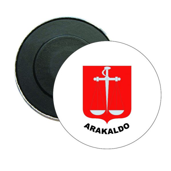 iman redondo escudo heraldico arakaldo