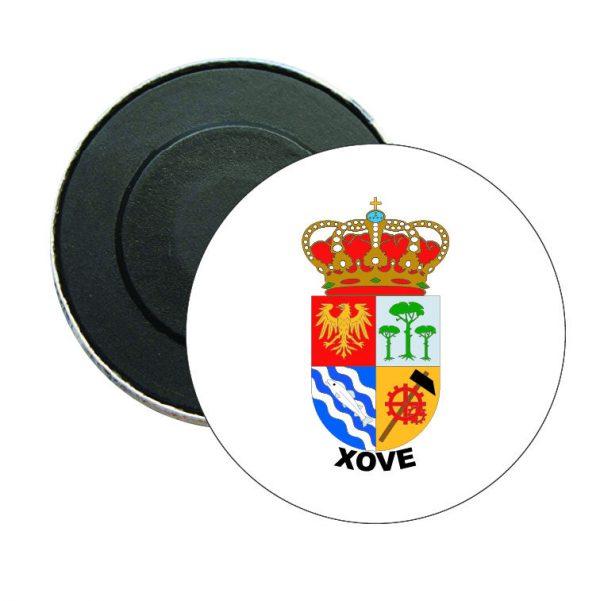 iman redondo escudo heraldico xove