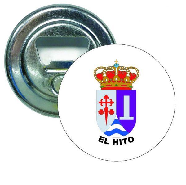abridor redondo escudo heraldico el hito