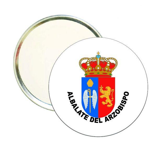 espejo redondo escudo heraldico albalate del arzobispo
