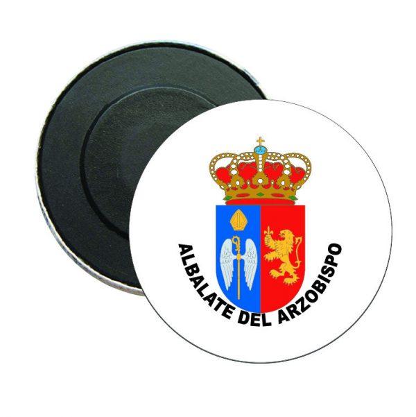 iman redondo escudo heraldico albalate del arzobispo