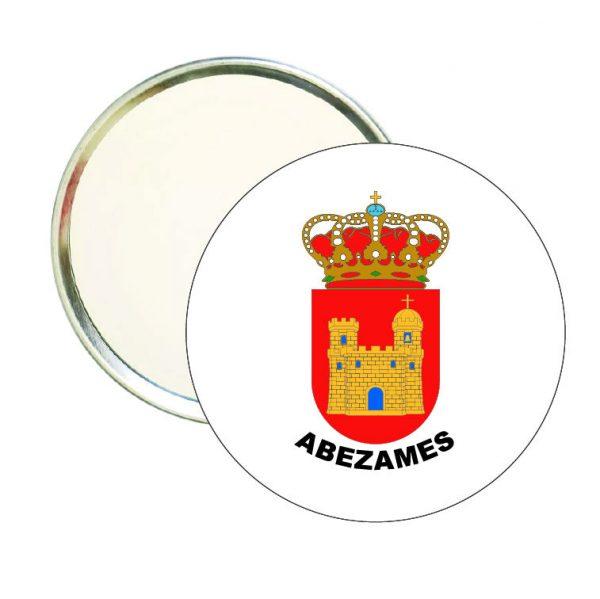 espejo redondo escudo heraldico abezames