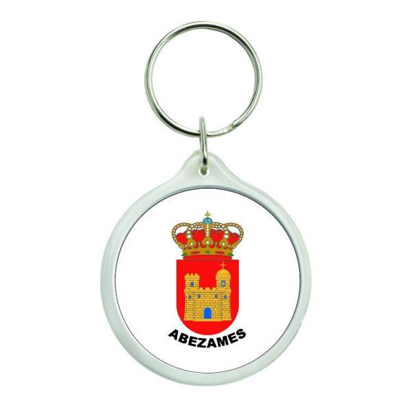 llavero redondo escudo heraldico abezames